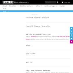 Démarches administratives à réaliser auprès de la CNIL pour un portail e-sidoc - Solutions documentaires