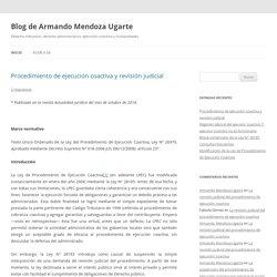 PUCP Blog de Armando Mendoza Ugarte