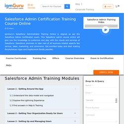 Salesforce Administrator Training Online