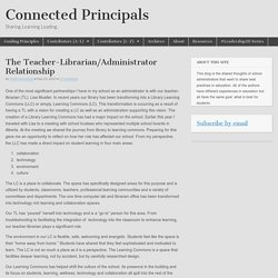 The Teacher-Librarian/Administrator Relationship