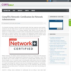 CompTIA Network+ Certification for Network Administrators