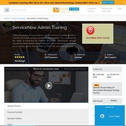 ServiceNow Adminsitrator Certification