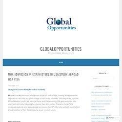 study Abroad USA Visa – globalopportunities