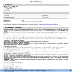 Admission Postbac - En savoir plus
