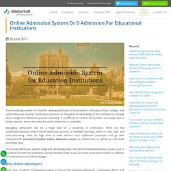 Student Admission Software