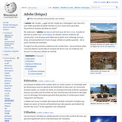 Adobe (brique)