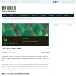 CP Guru - Adobe Captivate Widgets