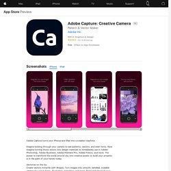 Adobe Capture: Creative Camera en App Store