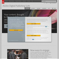 electronic publishing software | Adobe Digital Publishing Suite