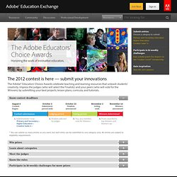 Education Exchange: The 2012 Educators' Choice Awards