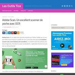 Adobe Scan. Un excellent scanner de poche avec OCR