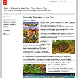 Helps Zynga Move to a New Farm | Digital Media Blog