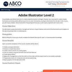 Adobe Illustrator Level 2
