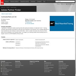 Adobe Partner Finder