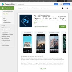 Adobe Photoshop Express - Apps on Android Market