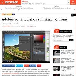 Adobe's got Photoshop running in Chrome