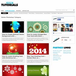 Adobe Photoshop tutorials