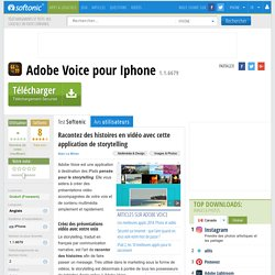 Adobe Voice (iPhone) - Télécharger