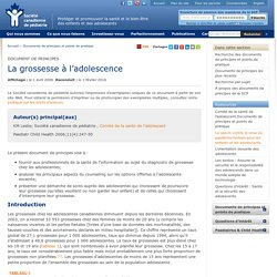 Documents de principes et points de pratique