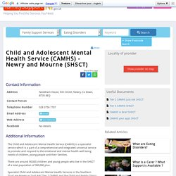 Child and Adolescent Mental Health Service (CAMHS) - Newry and Mourne (SHSCT) - Directory Listing