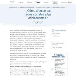 Adolescentes y redes sociales de hoy – Dove proyecto para la autoestima