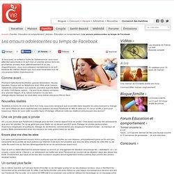 Les amours adolescentes au temps de Facebook - Articles - Éducation et comportement