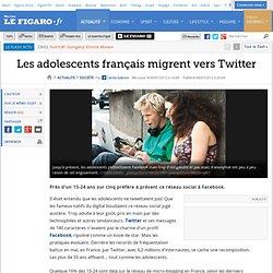 France : Les adolescents français migrent vers Twitter