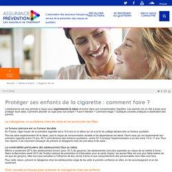 Prévenir le tabagisme chez les adolescents Assurance Prévention