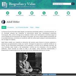 Adolf Hitler. Biografía.