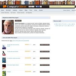 Adolfo Pérez Agustí - Biografía, libros y novelas (pag 1)