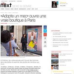 «Adopte un mec» ouvre une vraie boutique à Paris