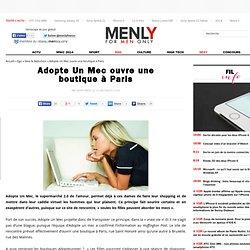 Adopte Un Mec ouvre une boutique à Paris