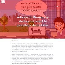 Adopte un bureau : la startup qui recycle les meubles
