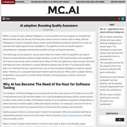 AI Adoption- Boosting Quality Assurance