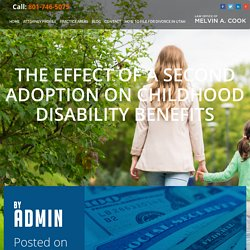 The Effect of a Second Adoption on Childhood Disability Benefits - Melvin