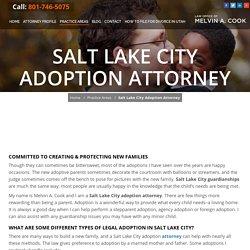 Salt Lake City Adoption Attorney