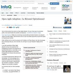 Open Agile Adoption : Le Résumé Opérationnel