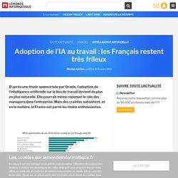 Adoption de l'IA au travail : les Français restent très frileux