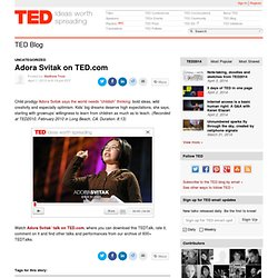 Adora Svitak on TED
