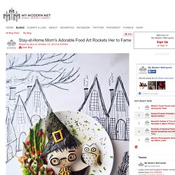 Stay-at-Home Mom's Adorable Food Art Rockets Her to Fame