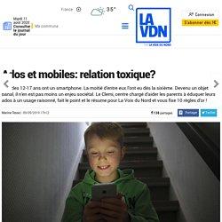 Ados et mobiles: relation toxique?