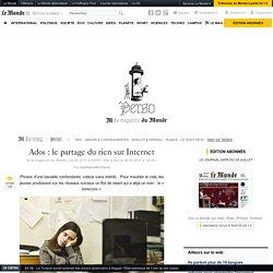 Ados : le partage du rien sur Internet