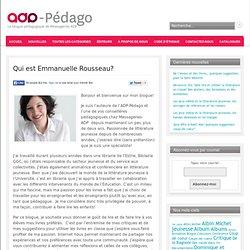 Qui est Emmanuelle Rousseau?