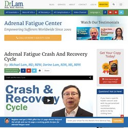 Adrenal Fatigue Crashes and how to Recovery from Them