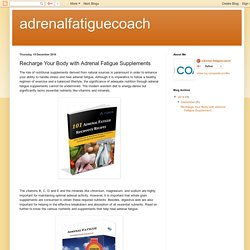 Adrenal Fatigue Coach