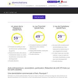 Adresse de domiciliation et boîtes postales à Paris dès 19,99€ par mois