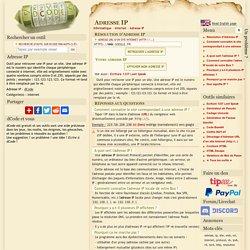Adresse IP d'un Site Internet Web - Résolveur en Ligne
