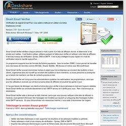 Adresse e-mail valide - Vérification Email: Smart Email Verifier