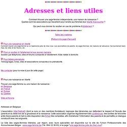 Adresses et liens utiles