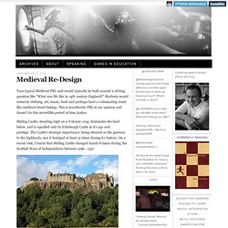 Adrian Camm · Medieval Re-Design